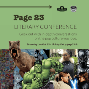 Page 23 Literary Conference 2020 Kicks Off October 15
