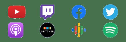 April 2021 PopStream Social Media Channels